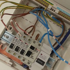 Commerical care home electrical installation. Full rewire, HMO fire alarm, emergency lighting, sockets, power